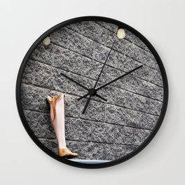 Need a Leg? Wall Clock