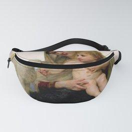 """William-Adolphe Bouguereau """"La Vierge à L'agneau (Virgin and Lamb)"""" Fanny Pack"""