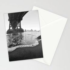 Under The Manhattan Bridge Stationery Cards