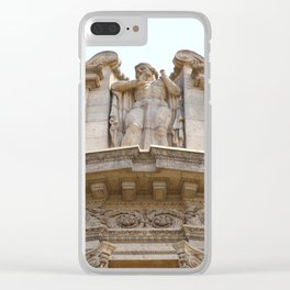 Palace of Fine Arts Relief Clear iPhone Case