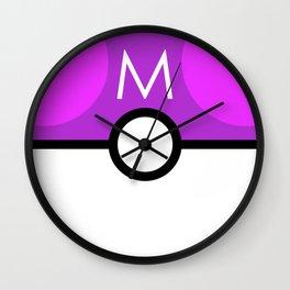 Master Ball Wall Clock
