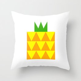 Ong Lai / Pineapple Throw Pillow