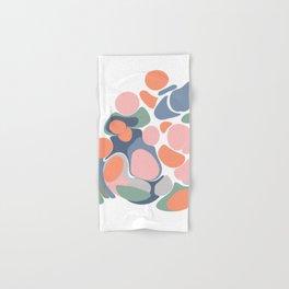 Abstract Shape Flower Art Hand & Bath Towel