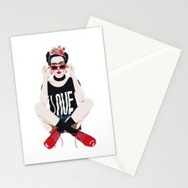 Rebel Girl Stationery Cards
