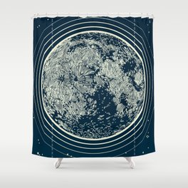 WE ARE WITHOUT LIMITS - Moonspiration Shower Curtain