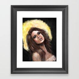 Gold Lust Framed Art Print