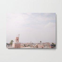Marrakech - Morocco - arabic - design - africa - city - decoration - wall art - photo - home decor Metal Print