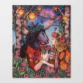 A Midsummer Nights Dream Canvas Print
