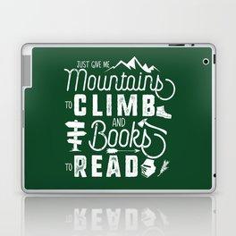 Moutnains & Books - Inverse Laptop & iPad Skin