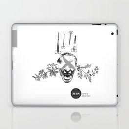 Burn After Reading   Collage Laptop & iPad Skin