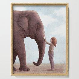 One Amazing Elephant Serving Tray