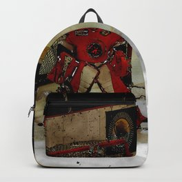 Life Goals - Ice Hockey Goalie Motivational Art Backpack