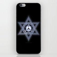 Israel Peace Symbol - 032 iPhone & iPod Skin