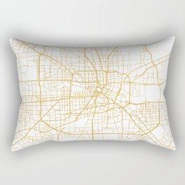 HOUSTON TEXAS CITY STREET MAP ART Rectangular Pillow