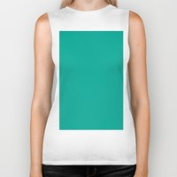 persian Biker Tanks featuring Persian green by List of colors