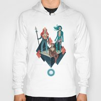 guardians Hoodies featuring The Guardians by Reno Nogaj