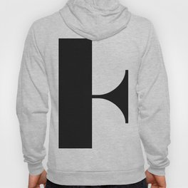 More than Shape / Capital Letter F Hoody
