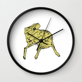 Dog Lover (Golden Retriever) Wall Clock
