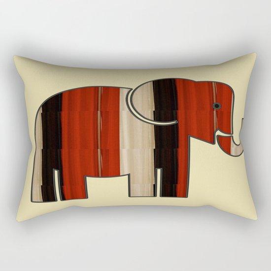 Down in Africa Rectangular Pillow