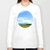 scotland Long Sleeve T-shirts featuring Highlands Scotland by seb mcnulty