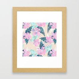 Lani Kai Tropical {F} Framed Art Print