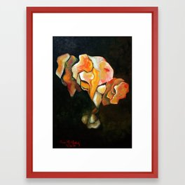 Shattering Framed Art Print