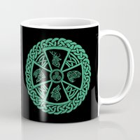 celtic Mugs featuring Celtic Nature by Astrablink7