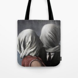 The Lovers II (Les Amants) 1928, Artwork Rene Magritte For Prints, Posters, Shirts, Bags Men Women K Tote Bag
