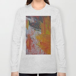Abstract Paint Swipes Long Sleeve T-shirt