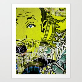 Feeling Yellow Art Print