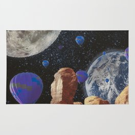 The slow trip in the universe Rug