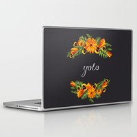 wwe Laptop & iPad Skins featuring Yolo by eARTh
