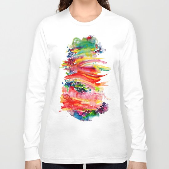 Watercolor Long Sleeve T-shirt