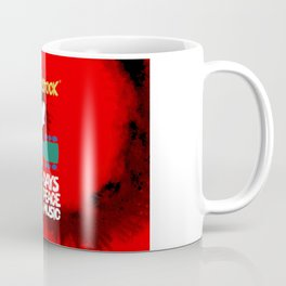 Woodstock 1969 (tie dye background) Coffee Mug