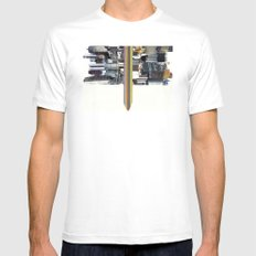 The Invisible Cities (dedicated to Italo Calvino) Mens Fitted Tee MEDIUM White