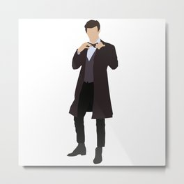 Eleventh Doctor: Matt Smith Metal Print
