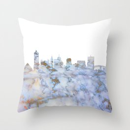 Memphis Skyline Tennessee Throw Pillow