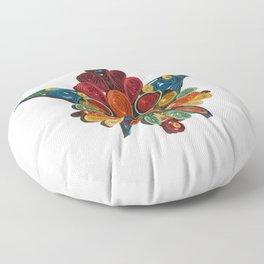 Flower of East Floor Pillow