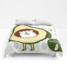 Domo avocado Comforters
