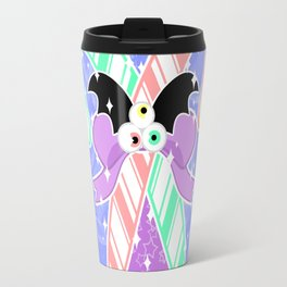 Candy Canes: Pastel Goth Version Travel Mug