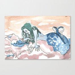 Mer Canvas Print