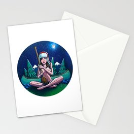 Canoe Girl Stationery Cards