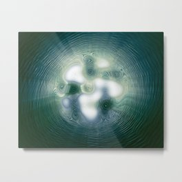 Liquid Gateway Metal Print