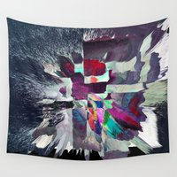 splatter Wall Tapestries featuring Splatter by MonsterBrown