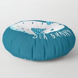 Sea Bunny Floor Pillow