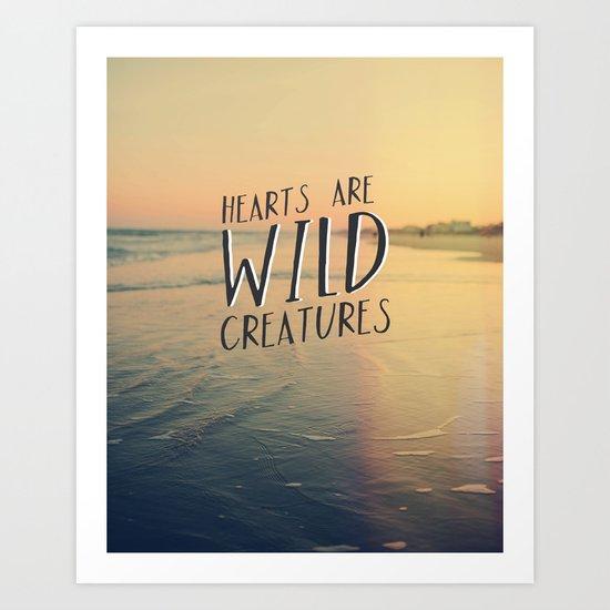 Wild Creatures Art Print