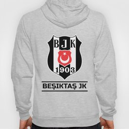 Besiktas JK (Beşiktaş JK) Turkish Football Club Logo  Hoody