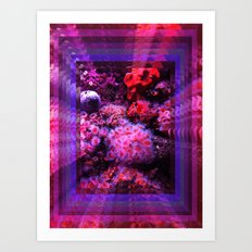 8Ft under the sea Art Print