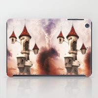 castle in the sky iPad Cases featuring Castle in the Sky by Heidy Curbelo