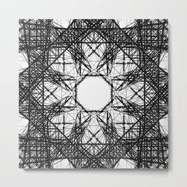 Symmetrical Power Metal Print